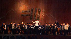 Das Konzertorchester beim Gastspiel in Reute