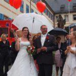 Das Hochzeitspaar Tanja & Stefan